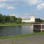 Vistoulas the beautiful river of Krakow is very near to Hilton Garden Inn  Hotel