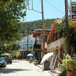 """View of the """"main street"""" of Katelios"""