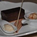 Scrummy chocolate brownie