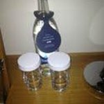Bottle of warm water - only £3:95!