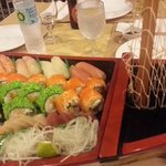 an expensive Sushi boat... boat should have been included
