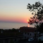 tramonto da villa rinaldi