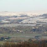 View towards Dartmoor