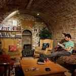 Basement Reading room at Isaacs