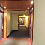 The gloomy corridor