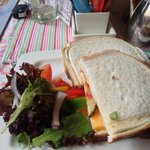 Sandwiches from afternoon tea