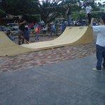 skatepark en el Redondel