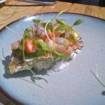 Ceviche El Carmen - shrimp, oyster, octopus, etc.