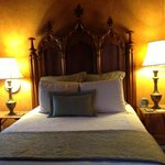 Beautiful Gothic Style Antique Headboard
