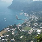 Looking down on Marina Grande,Capri