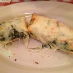 Cheesy Bread Florentine