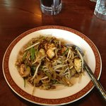 Delicious Char Kway Teow or fried noodles