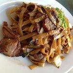 Beautiful BBQ pork Noodles!