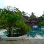 Una delle tre piscine!