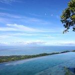 Serene pool view of the ocean