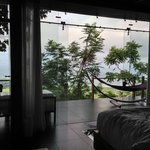 Another amazing view from inside the villa