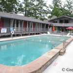 Sparkling clean pool