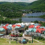 Mont Tremblant from the mountain