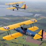Formation flying in Scandinavia