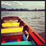 Boat ride from Khlong Toei Pier