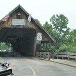Covered Bridge To Shops