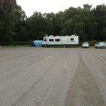 Membury Services? no, its Holmsley Campsite
