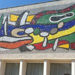Front of the Fernand-Leger Museum