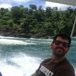 Jose, one of the nature guides on the boat ride to Corcovado Park