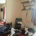 Fairly spacious and had room for all our stuff!