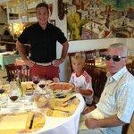 ENJOYING LA GONDOLA ITALIAN RESTAURANT ON 1ST OF AUGUST 2013, SWISS NATIONAL DAY !!!