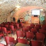 La salle voutée où se déroulent de nombreuses représentations