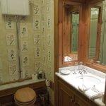 Cute, quaint bathroom