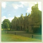 Sunny August day at Roxburghe Hotel
