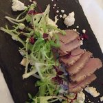 Duck and smoked fetta