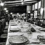Patio of the restaurant