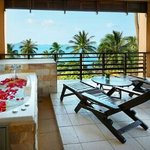 Holiday suite building balcony Seaview