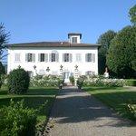 Villa Mozzi from the garden