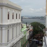 View from hotel - The fort is just a few blocks from front door.