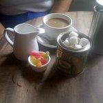 Coffee + jelly babies