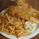 Haddock & Chips Dinner (Medium) - Family Fisheries Restaurant