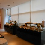 Another shot of the extensive breakfast buffet