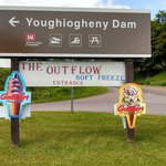 Loacted at the entrance to the Youghiogheny Dam
