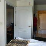 Bedroom/Vanity/Bathroom Area