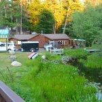 Black Bear Bar & Grill - Shisabagama creek - Minocqua Wisconsin