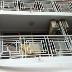Balkone sind nicht sehr schön!