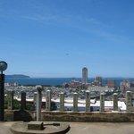 View on Fukuoka from Atago Shrine