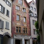 Old town Chur scene
