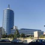 T Hotel Cagliari, ubicado en una zona cercana al centro de la ciudad.