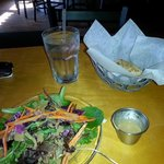 Awesome salad and bread