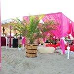 Just Pink Beach Bar